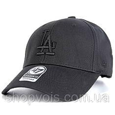 Кепка 47 Brand Los Angeles M512 Бейсболка Черная (реплика)