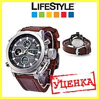 УЦЕНКА! Стильные мужские наручные армейские часы AMST. (526942)