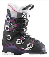 Горнолыжные ботинки женские Salomon X PRO 80 W BLUE TRANSLUCENT/BLACK/PINK (MD)