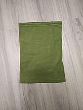 Флисовый бафф/горловик (зеленый)