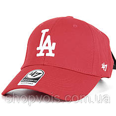Кепка 47 Brand Los Angeles M513 Бейсболка Красная (реплика)