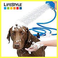 Рукавиця для миття тварин Pet washer / Щітка душ для собак, кішок