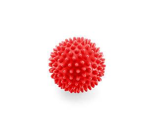 Массажный мяч с шипами для мышц 4FIZJO Spike Balls 7 см 4FJ0145 высокой жесткости для дома и спортзала