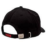 Мужская кепка Puma бейсболка черная Пума Плотный коттон Турция Качество Трендовая Стильная Модная реплика, фото 3