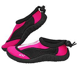 Обувь для пляжа и кораллов (аквашузы) SportVida SV-GY0001-R33 Size 33 Black/Pink акваобувь для девочки