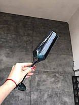 Набор 6 бокалов для шампанского из цветного стекла Кристалл морская волна 200 мл, фото 2