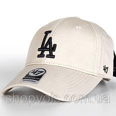 Кепка 47 Brand Los Angeles M514 Бейсболка Бежевая (реплика)