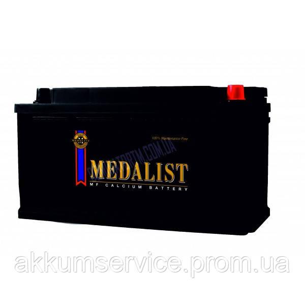 Аккумулятор автомобильный Medalist (59015) 90AH R+ 850A