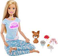 Кукла Барби блондинка Дыши со мной Медитация (GNK01) от Mattel Barbie, фото 1