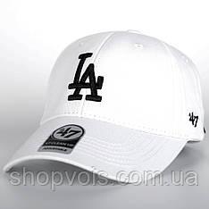 Кепка 47 Brand Los Angeles M515 Бейсболка Белая (реплика)