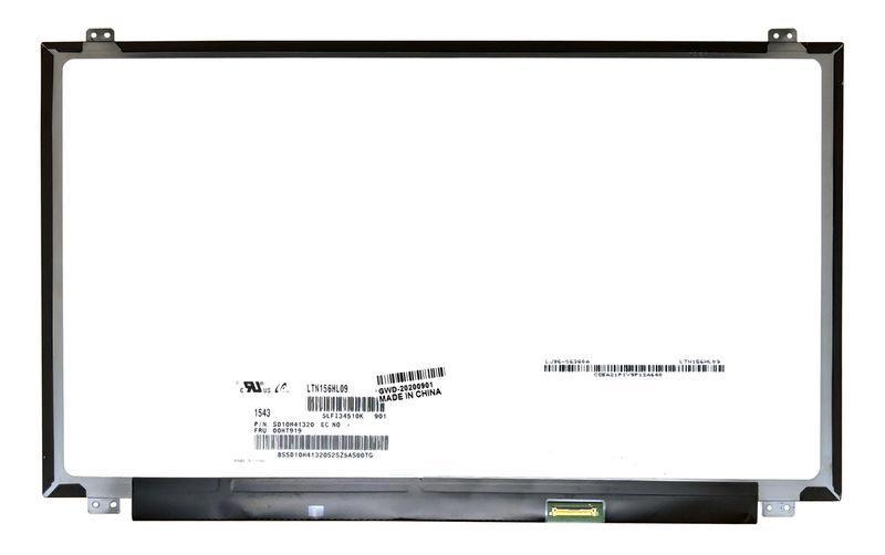 "Матрица для ноутбука 15,6"", Slim (тонкая), 30 pin (снизу справа), 1920x1080, Светодиодная (LED), PLS,"