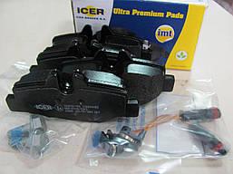 Тормозные колодки задние Mercedes Vito W639