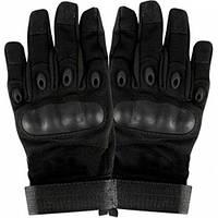Тактические перчатки GL617 с защитой черные
