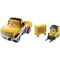 Disney/Pixar Тачки 3: Шеф Джон Ласcетир и Турбо Буллок FLH66 (Cars 3 Turbo Bullock & John Lassetire) от Mattel, фото 1