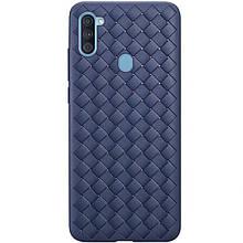 PU чохол-накладка Epik Weaving series для Samsung Galaxy A11