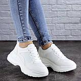 Женские кроссовки Fashion Mishu 2046 36 размер 23 см Белый, фото 4