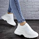 Женские кроссовки Fashion Mishu 2046 36 размер 23 см Белый, фото 5