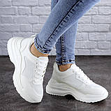 Женские кроссовки Fashion Mishu 2046 36 размер 23 см Белый, фото 6