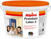 Alpina Premiumlatex 3 E.L.F. B3   особо стойкая латексная краска матовая 9,4 л