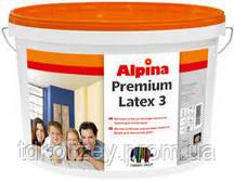 Alpina Premiumlatex 3 E.L.F. B1  особо стойкая латексная краска 10 л