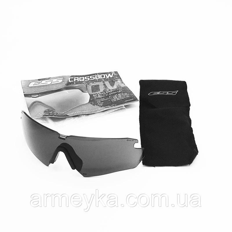 Линза ESS Crossbow glasses Smoke Gray (темная). НОВОЕ. Оригинал.