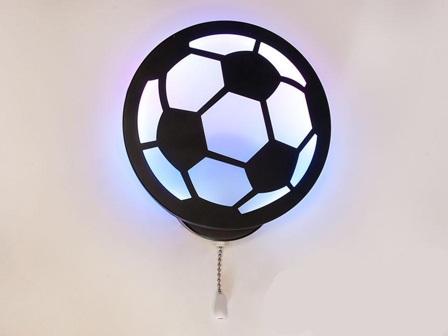 Настенный светодиодный светильник мячик цвет черный 18W Diasha&8065/1BK RGB