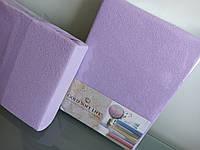 Махровые простыни на резинке на двуспальные матрасы 160*200см, Турция