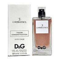 Dolce & Gabbana 3 L`IMPERATRICE TESTER женский,100 мл
