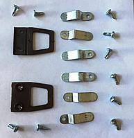 Крепления москитной сетки внутренней для трехкамерного профиля коричневые