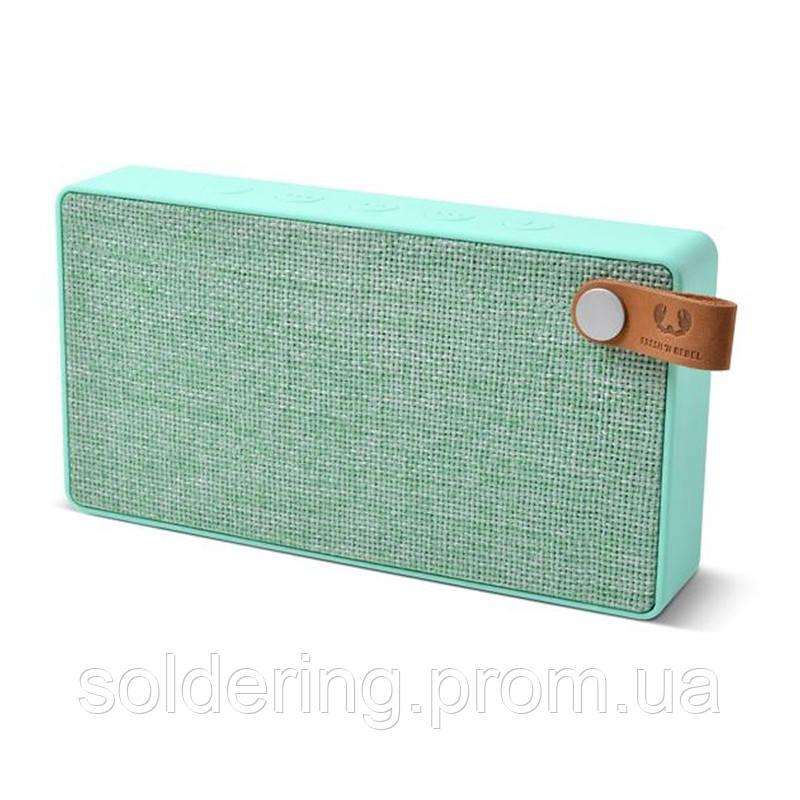 Акустическая система Fresh 'N Rebel Rockbox Slice Fabriq Edition Bluetooth Speaker Peppermint (1RB2500PT)