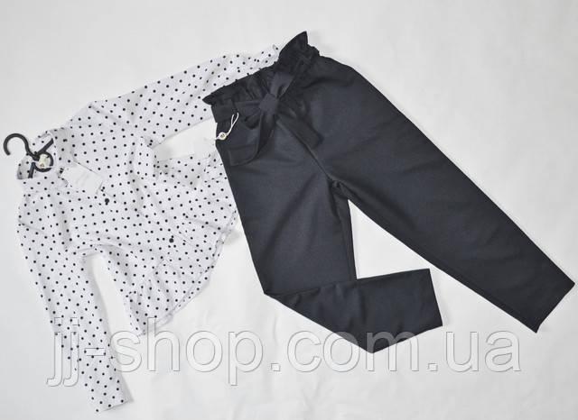 Детские классические брюки на девочек