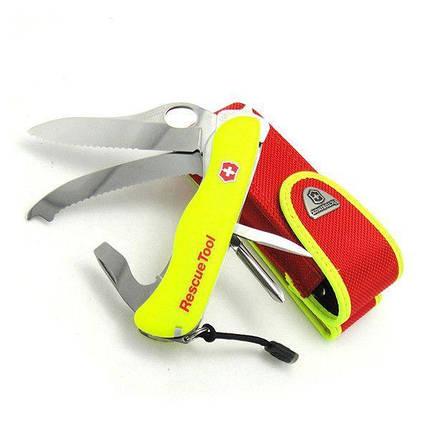 Нож Victorinox Rescue Tool 0.8623.MWN Желтый, фото 2