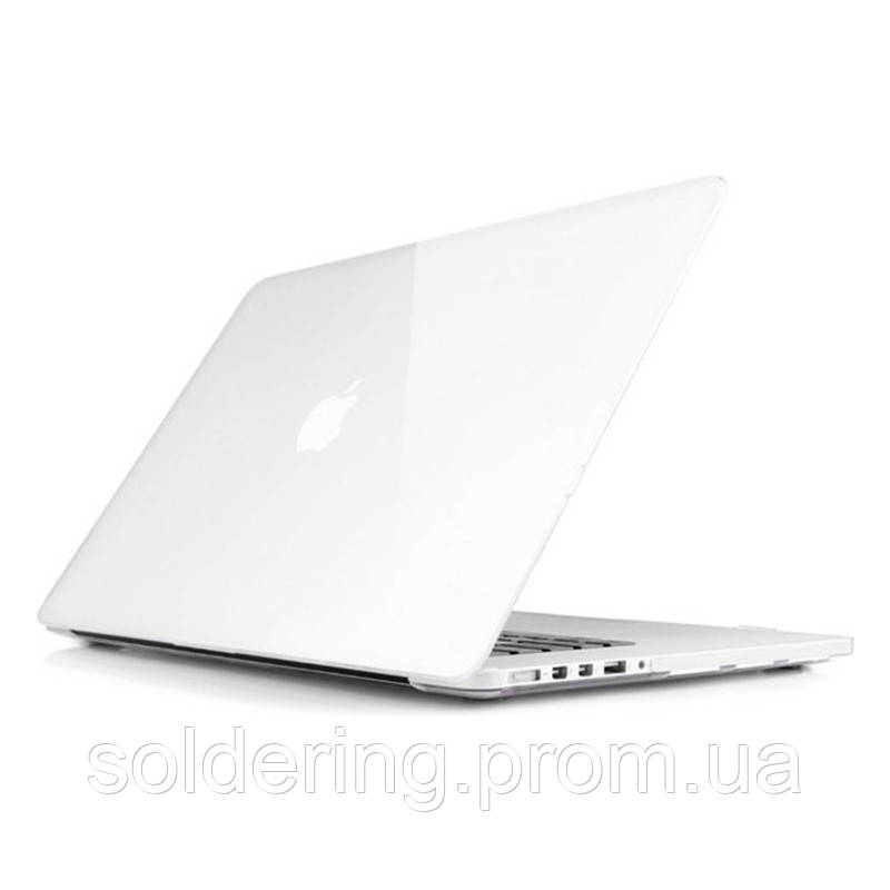 Чехол Macally Shell для MacBook Pro 15 A1398 Transparent (PROSHELL15-C)