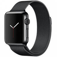 Ремешок Milanese Loop Black для Apple Watch 40/38mm