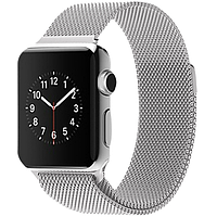 Ремешок Milanese Loop Silver для Apple Watch 40/38mm