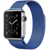 Ремешок Milanese Loop Blue для Apple Watch 40/38mm