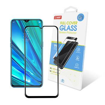 Защитное стекло Global для Realme 5 Pro Full Glue Black (1283126497766)