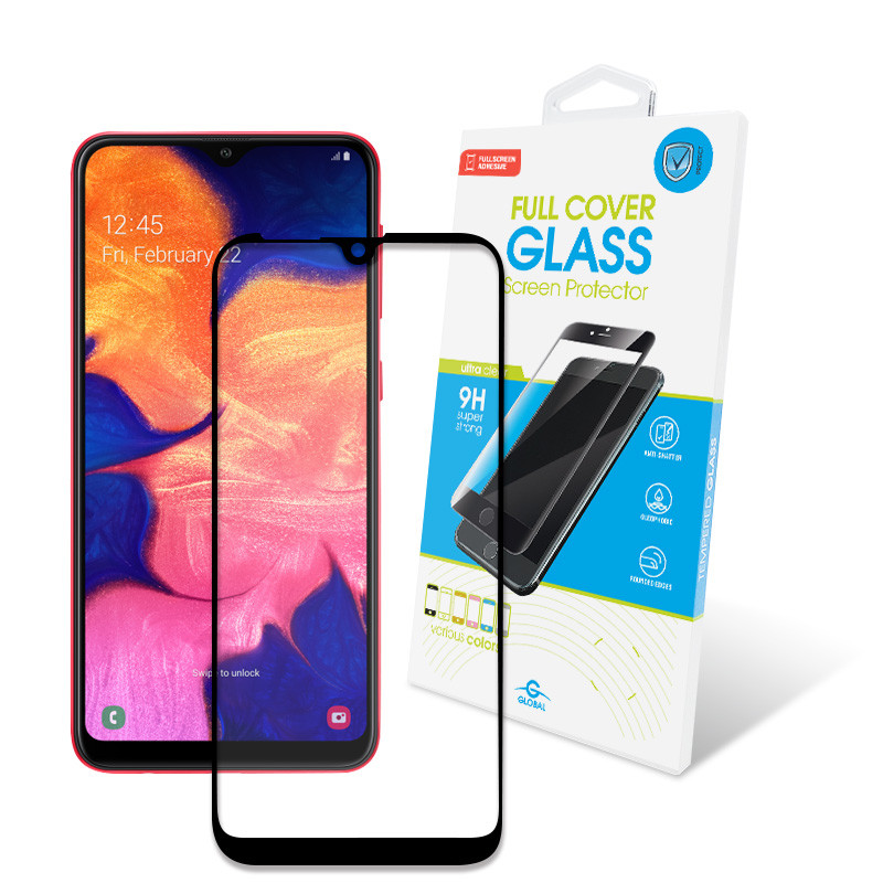 Защитное стекло Global для Samsung Galaxy A10 SM-A105 Full Glue Black (1283126490972)