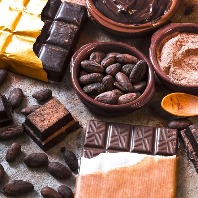 Какао-продукты, кэроб, шоколад