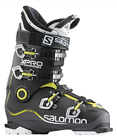 Горнолыжные ботинки Salomon X PRO 90 ANTHRACITE/BLACK/ACIDE GREEN (MD)