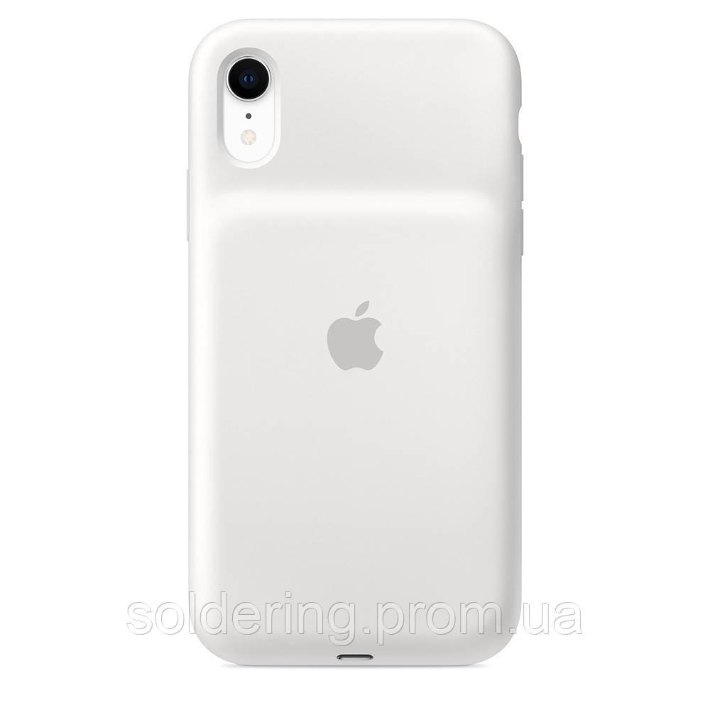Чехол Apple Smart Battery Case для iPhone XR White (MU7N2ZM/A)