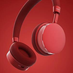 Навушники bluetooth Remax RB-520HB Red (330042), фото 2