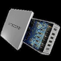 Мережевий зарядний пристрій Nitecore UA66Q 68W 1USB-QC3.0/4USB-QC2.0 White (6-1358_66), фото 3