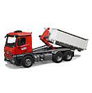 Іграшка вантажівка Mercedes-Benz Arocs, 6x4, Abrollcontainer mit Figur, артикул B66006044, фото 2