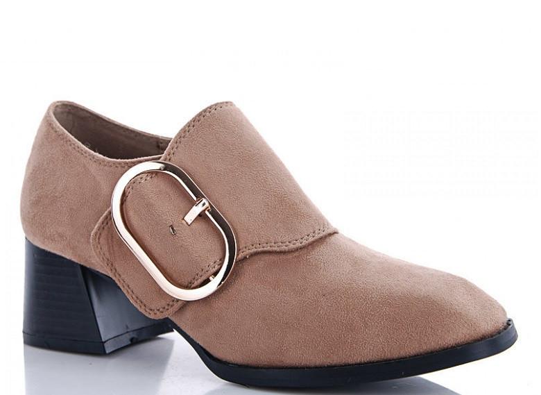 Туфли женские бежевые Cinar-R115P-2