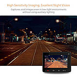 Видеорегистратор Xiaomi Yi Smart Dash WiFi Black (Международная версия), фото 4