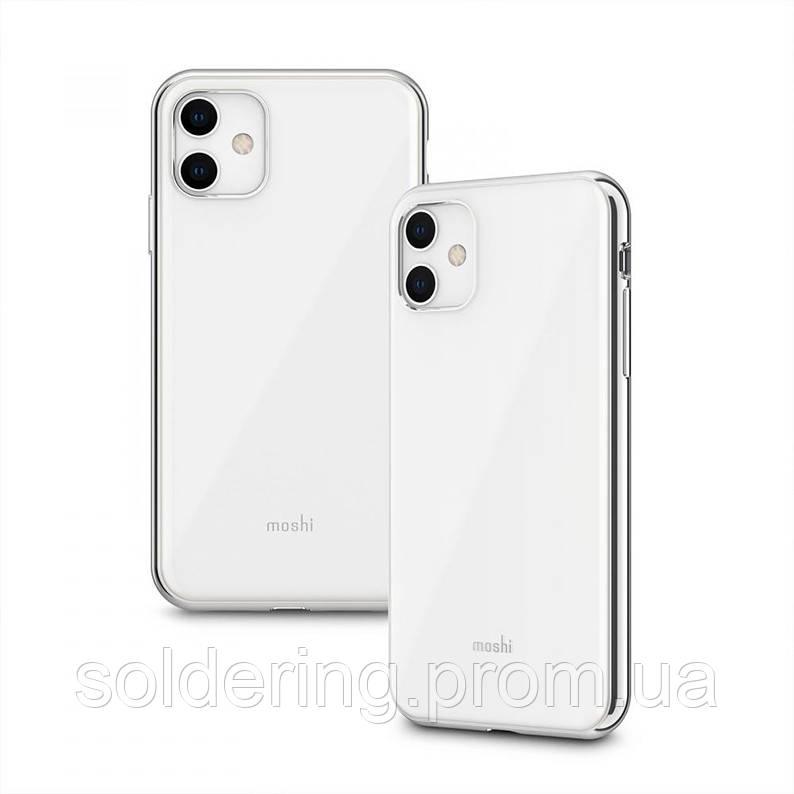 Чехол Moshi iGlaze Slim Hardshell Case Pearl White для iPhone 11 (99MO113104)