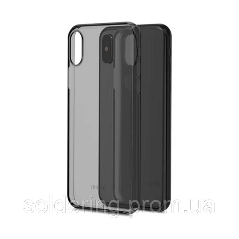 Чехол Moshi SuperSkin Exceptionally Thin Protective Case Stealth Black для iPhone XS/X (99MO111063)