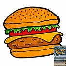 Полотенце пляжное Гамбургер (IMP_73_BURGER), фото 2