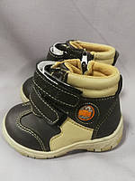 Демісезонні черевики для хлопчика 21 розмір, фото 1